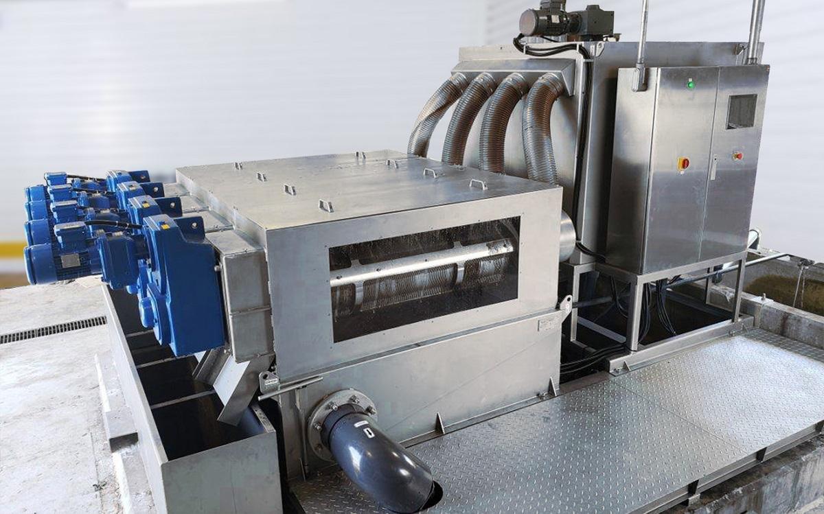 ekoton multi disc screw press